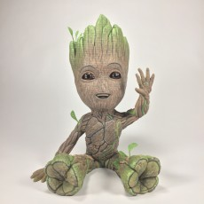 Picture of print of Baby Groot 这个打印已上传 Brian Bueza