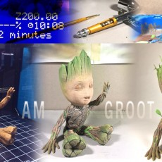 Picture of print of Baby Groot