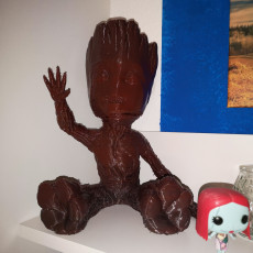 Picture of print of Baby Groot 这个打印已上传 Sven Richter