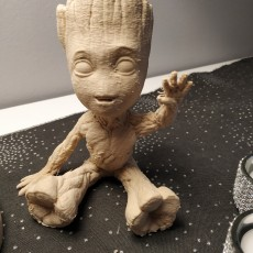 Picture of print of Baby Groot 这个打印已上传 GEORGE Thibault