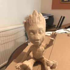 Picture of print of Baby Groot 这个打印已上传 Ajay Ramtohul