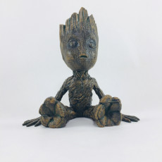 Picture of print of Baby Groot 这个打印已上传 Angel Spy