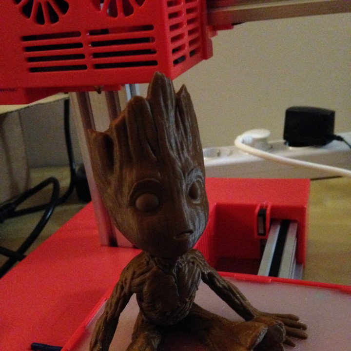 Picture of print of Baby Groot This print has been uploaded by Dominique Breton