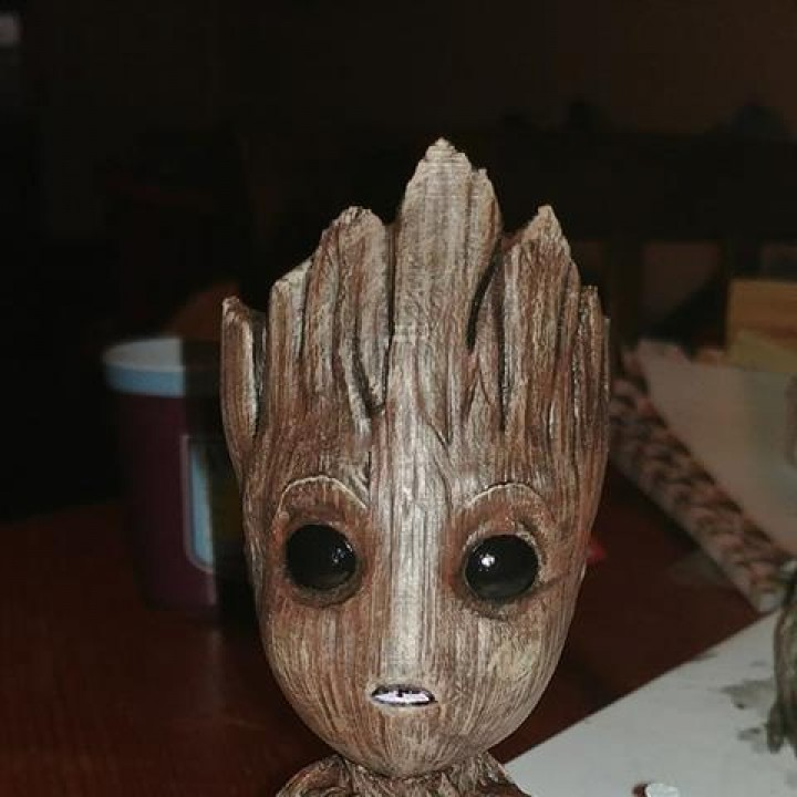 Picture of print of Baby Groot This print has been uploaded by Jim Goulbourne