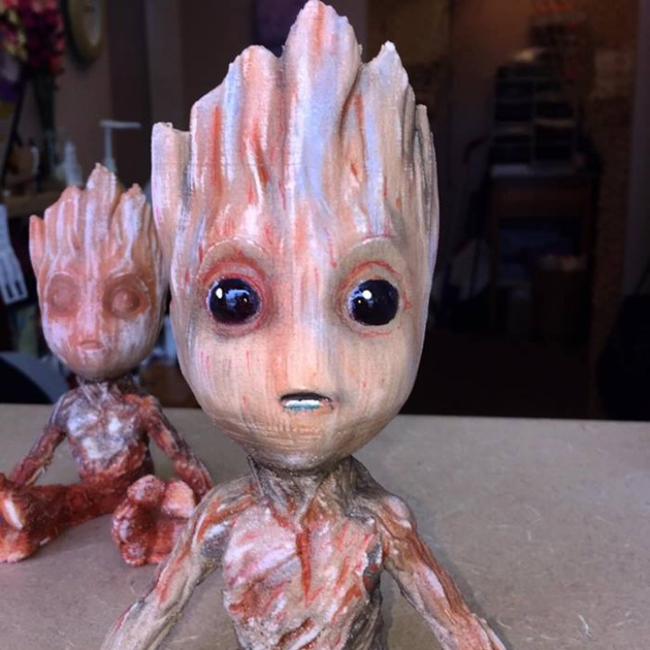 Picture of print of Baby Groot This print has been uploaded by TERRY R AALTO
