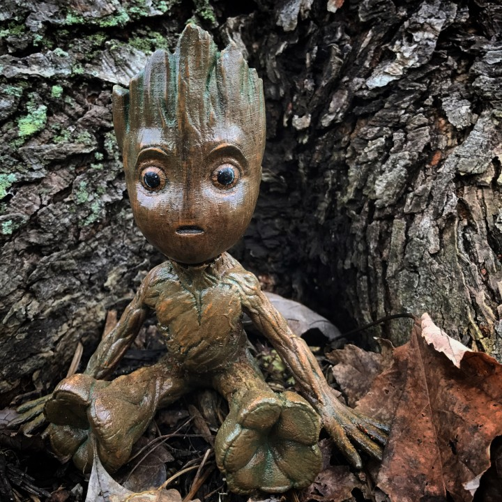 Picture of print of Baby Groot This print has been uploaded by Stephen Herron