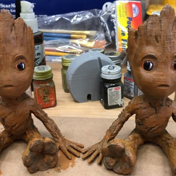 Picture of print of Baby Groot This print has been uploaded by Matthew Nicholas