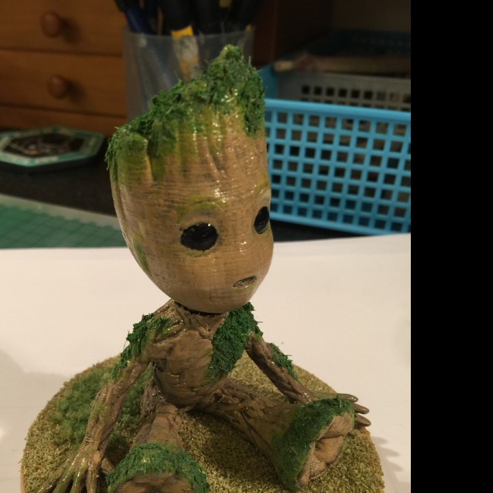 Picture of print of Baby Groot This print has been uploaded by Yi Chieh  Lu