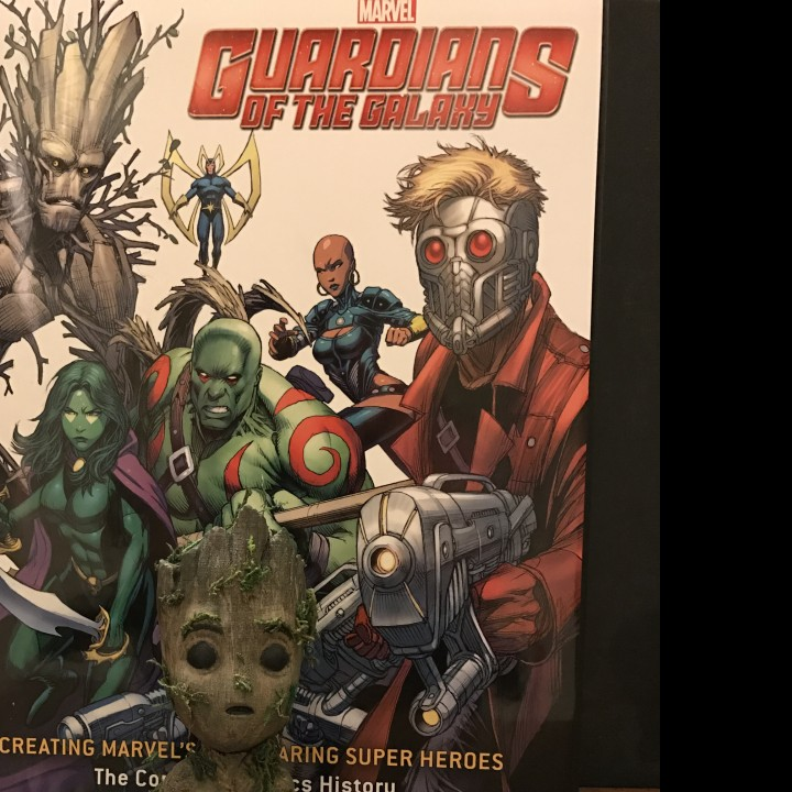 Picture of print of Baby Groot This print has been uploaded by Nate McKelvie