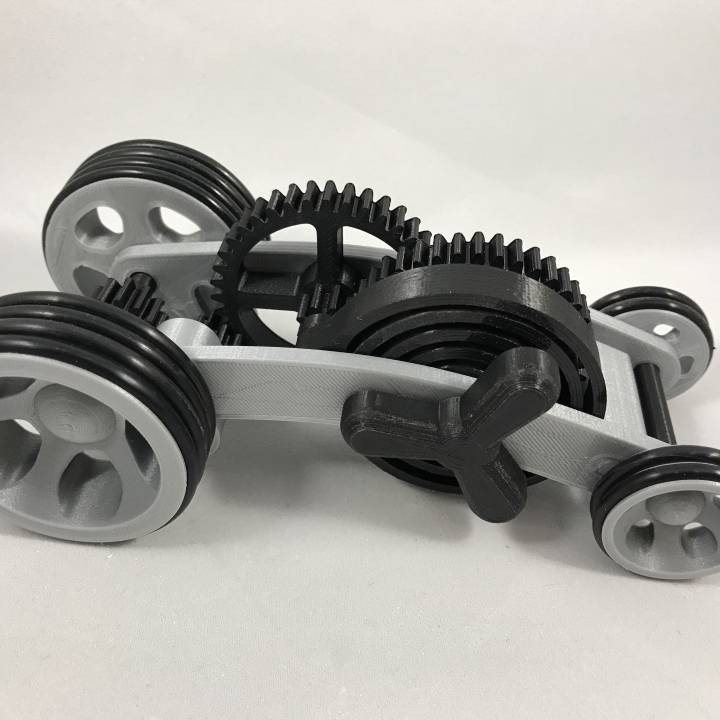 Dual Mode Spring Motor Rolling Chassis