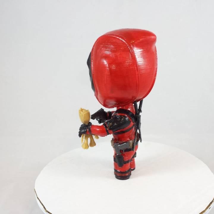 Deadpool vs Groot