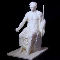 Statue of Augustus as Jupiter