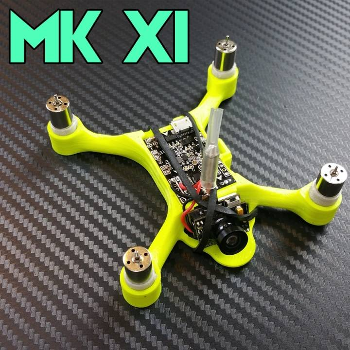 3D Printable MK XI Micro Quad Frame By NeatherBot
