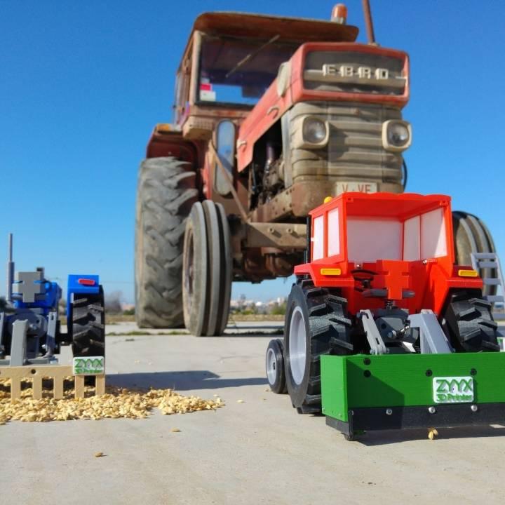 OpenRC Tractor leveler