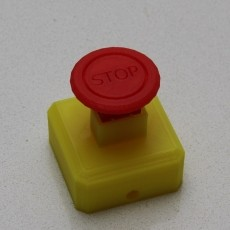 Emergency Stop  Mushroom  Push Button