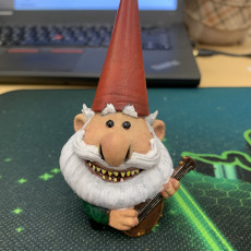 Picture of print of Gnome Chomsky from Trollhunters