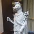 Statue of Hermanubis print image