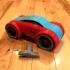 Dual Mode Windup Car print image