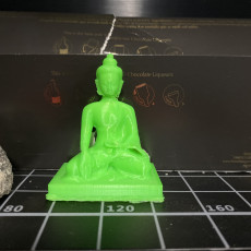 Picture of print of Buddha
