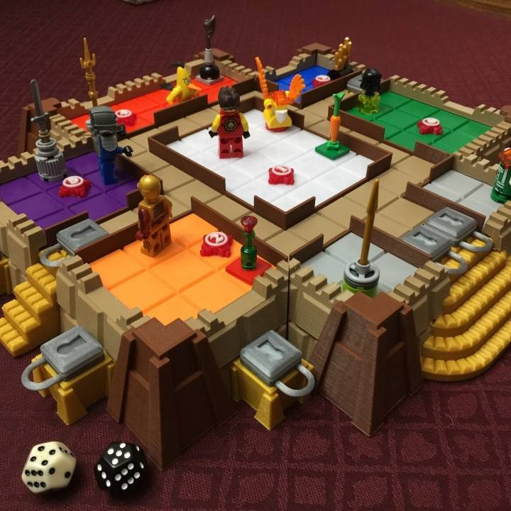 3d Printable Fun Burglary At The Mansion By Adam Luter