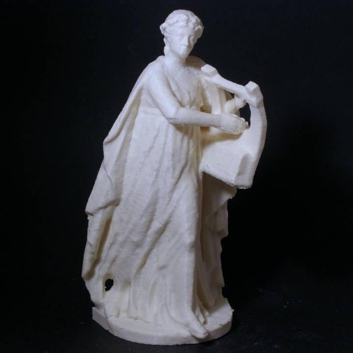 Apollo with a Kithara