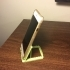 Adjustable iPhone&smartphone cat stand - Easy assembly, no tool needed image