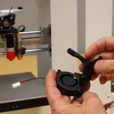 Printrbot 50mm Blower Fan Shroud(s)