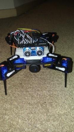 Arduino Quadruped Crawler