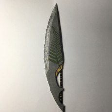 Monster Hunter Petrified Blade