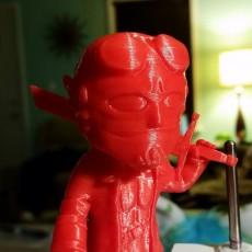 Picture of print of hellboy (chibi)