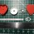 Valentine Heart Message image