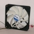 Mini Kossel 120mm Fan mount with optional switch support image