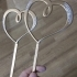 Wedding Hearts Topper image