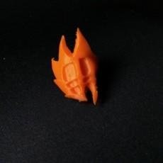 Red Bludgeon Pendant