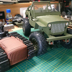 Picture of print of RC MB Jeep in 1:10