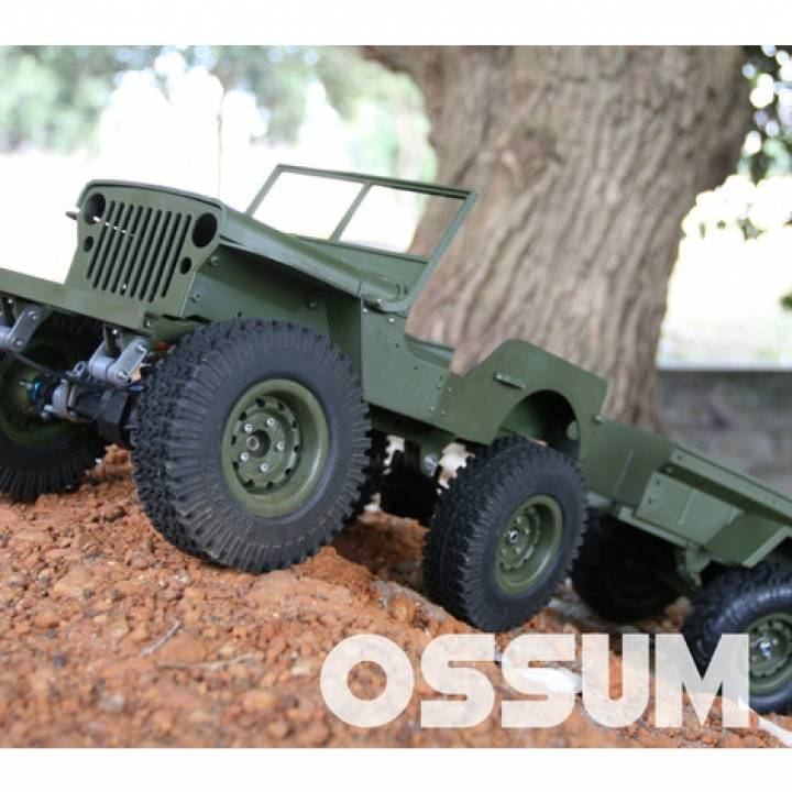RC MB Jeep in 1:10