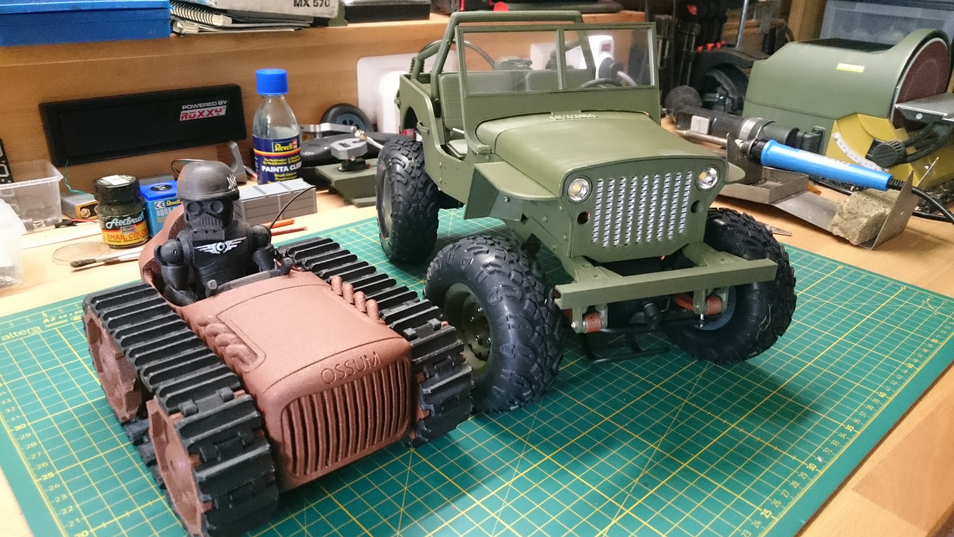 3D Printable RC MB Jeep in 1:10 by Jason Suter