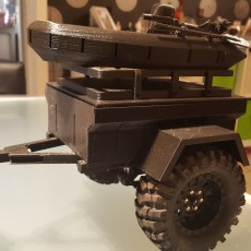 Picture of print of M416 Trailer in 1:10 Scale