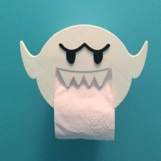 Boo Toilet paper holder