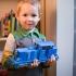 DIESEL-01 locomotive that fits LEGO tracks - oldest design of ERS models family primary image