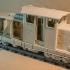 DIESEL-01 locomotive that fits LEGO tracks - oldest design of ERS models family image