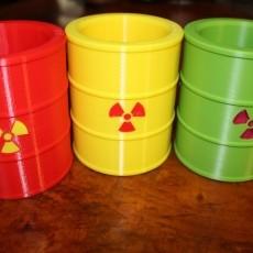 Nuclear Waste Barrel Koozie