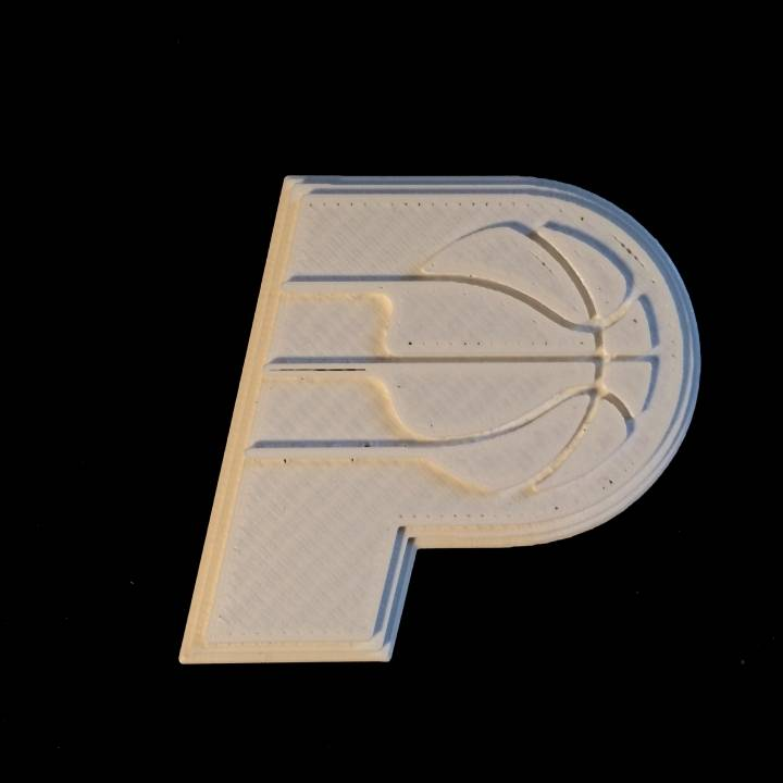 photograph regarding Printable Pacers Schedule identify 3D Printable Indiana Pacers - Brand as a result of Chris Schneider