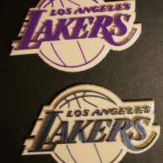 Picture of print of Los Angeles Lakers - Logo