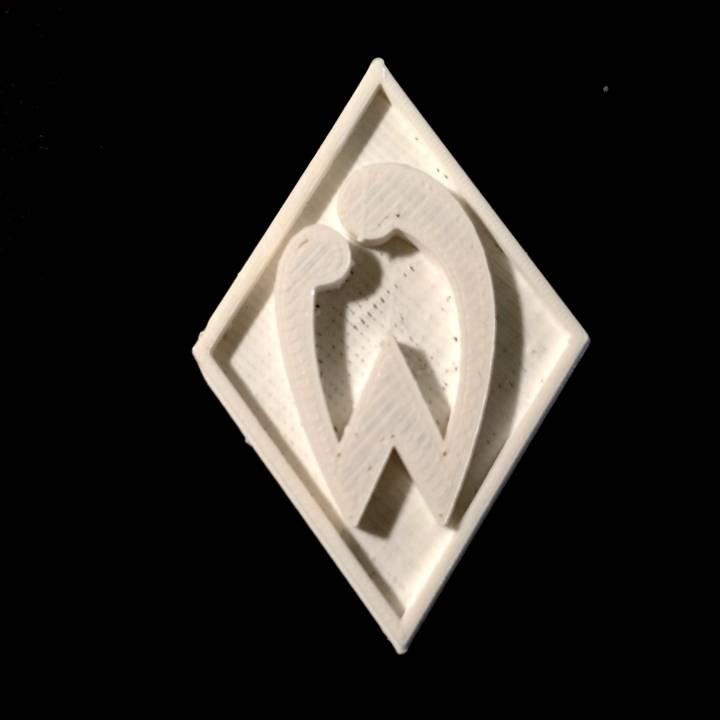 Geliebte Download SV Werder Bremen - Logo von Chris Schneider &QF_06