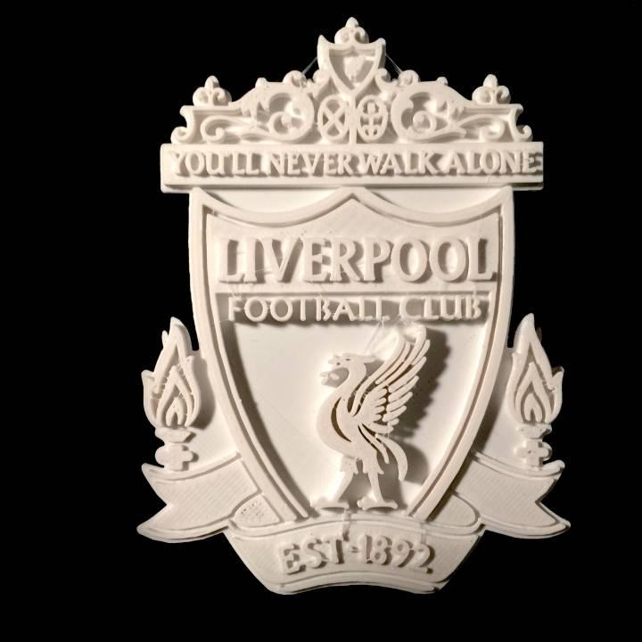 3D Printable Liverpool FC