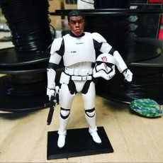 Display Stand for Star Wars Black Series 6 inch Stormtroopers