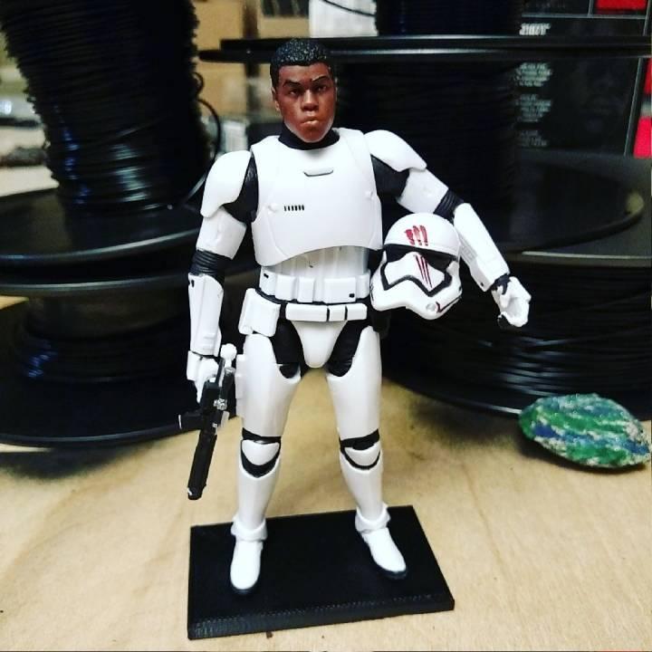 3d Printable Display Stand For Star Wars Black Series 6