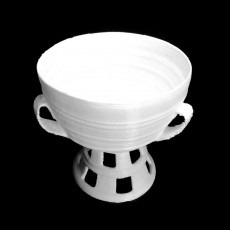 Mounted Cup With Three Ears