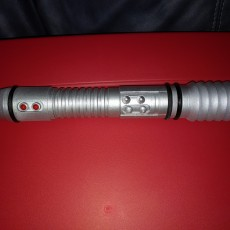 Picture of print of Kit Fisto's Lightsaber
